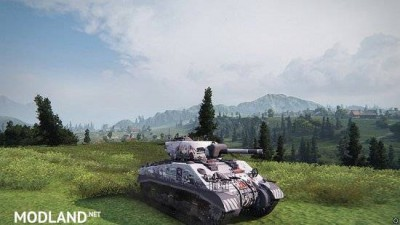 [BCSF] Sherman III [Tou no shita no exercitus] [Chloe Oudiaar] skin 0.0 [1.5.0.4], 4 photo